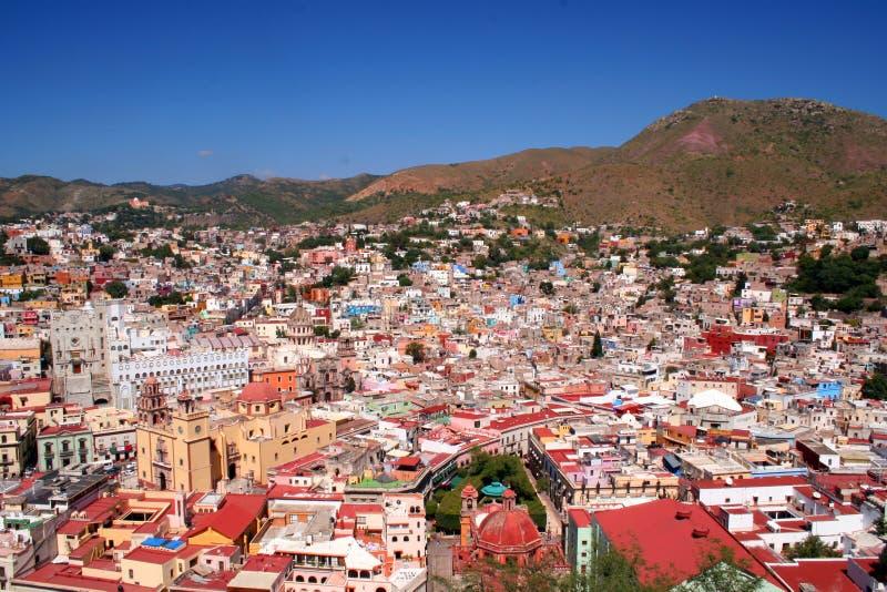 Cidade bonita de Guanajuato/México imagens de stock royalty free