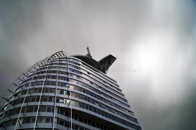 Cidade Bremerhaven da vela imagens de stock