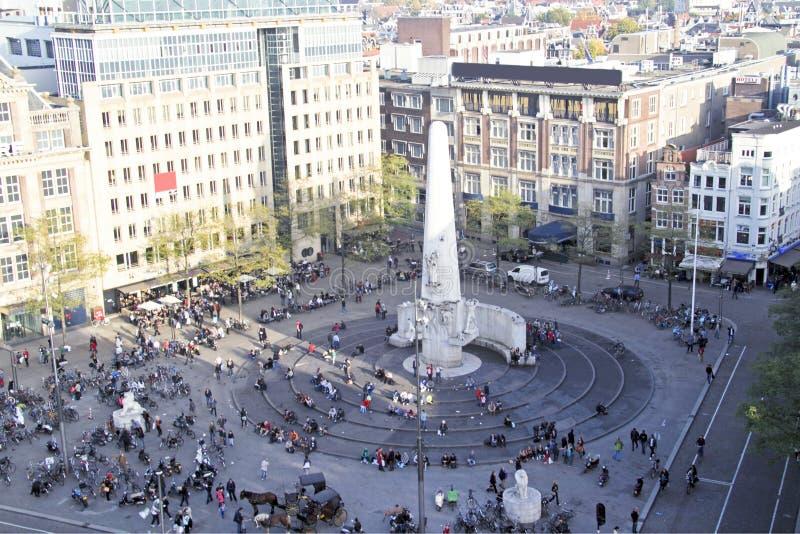 Cidade cênico de Amsterdão nos Países Baixos foto de stock royalty free