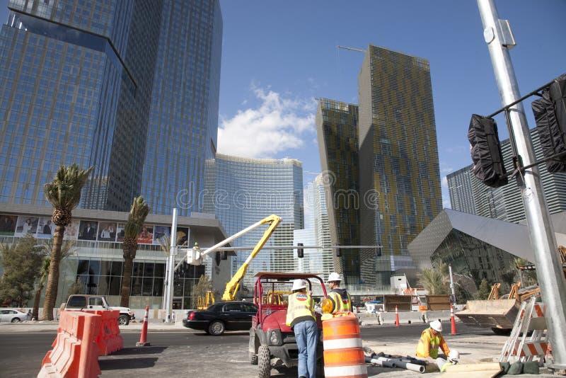 Cidade Cente Las Vegas fotos de stock royalty free