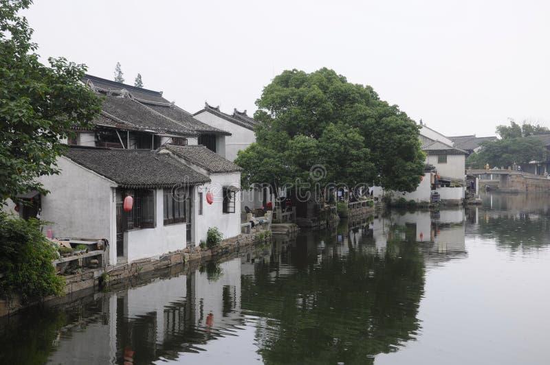 Cidade China da água de Tongli imagem de stock royalty free