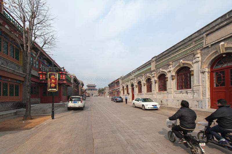 Cidade chinesa antiga foto de stock