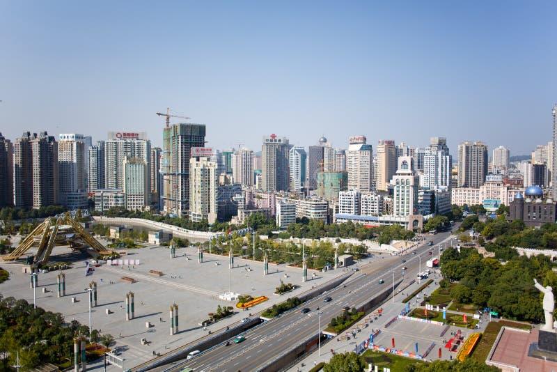 Cidade chinesa do turista - cenário de Guiyang fotos de stock