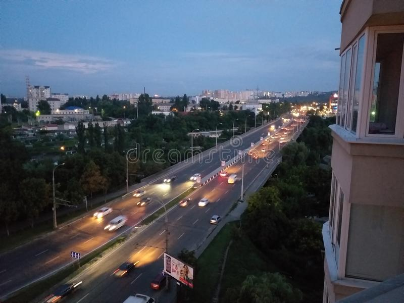 Cidade chisinau fotografia de stock