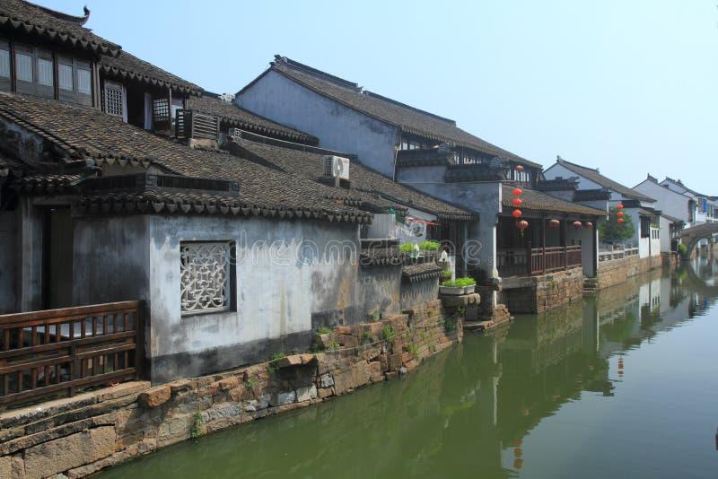 Cidade da água de Luzhi, suzhou China fotos de stock