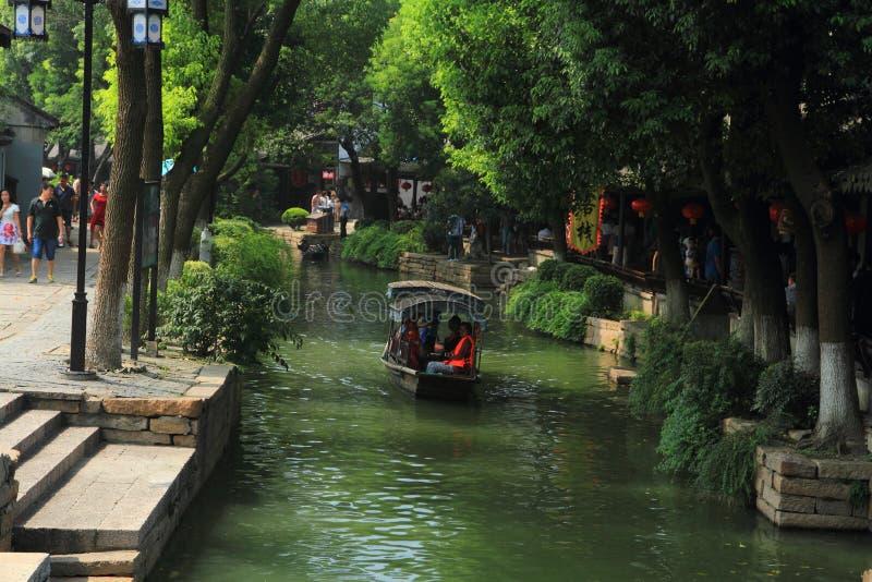 Cidade da água de Luzhi, suzhou China foto de stock royalty free