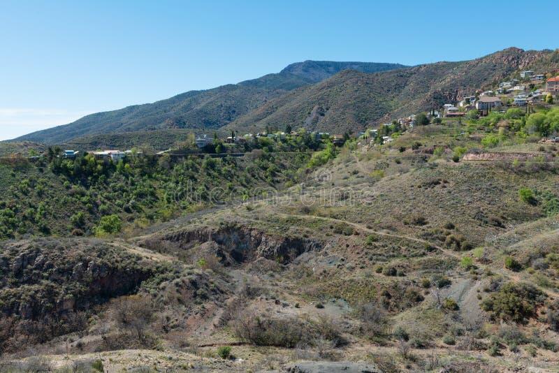 Cidade da mineração da cume fotografia de stock royalty free