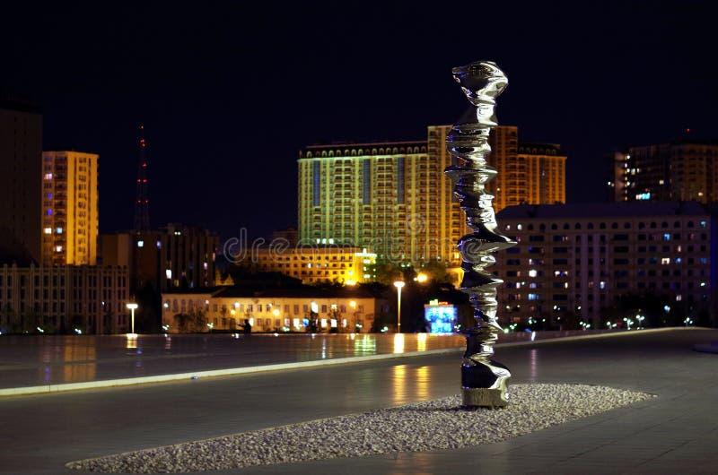 Cidade da noite imagem de stock