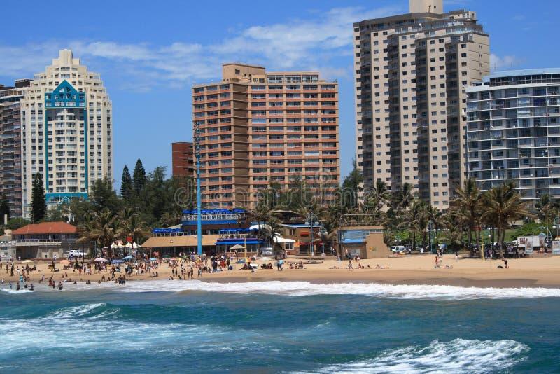 Cidade da praia fotografia de stock