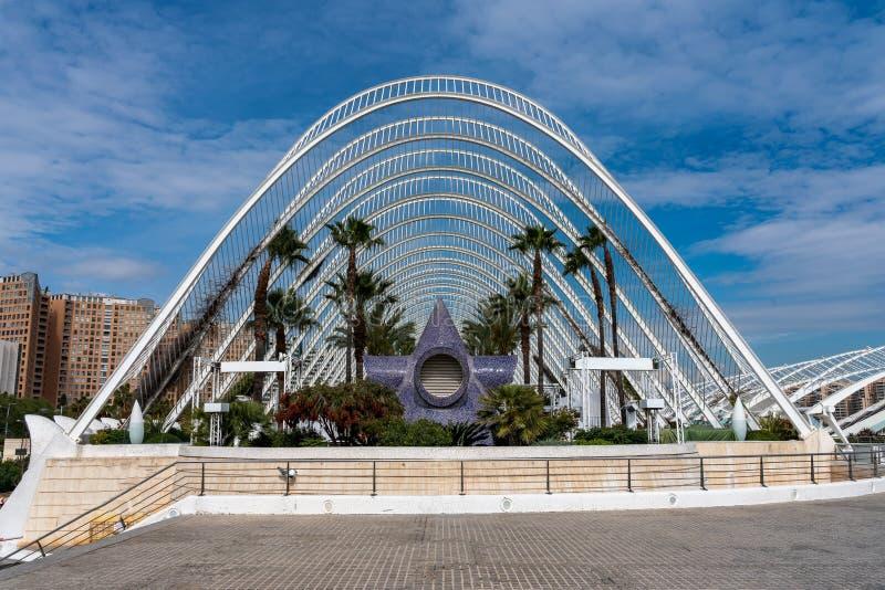 Cidade das artes e das ci?ncias em Valen?a, Spain imagem de stock royalty free