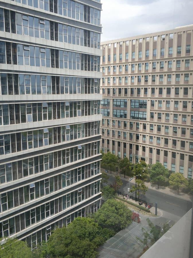 Cidade de Œshanghai do ¼ do buildingï do escritório de Shanghai foto de stock royalty free
