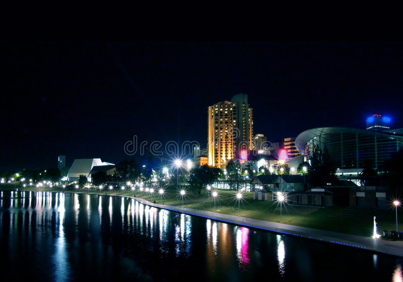 Cidade de Adelaide foto de stock