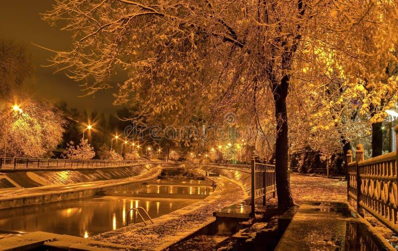 Cidade de Almaty imagens de stock