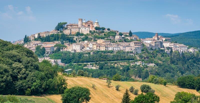 Cidade de Amelia, antiga e bonita na província de Terni, Úmbria, Itália fotos de stock royalty free