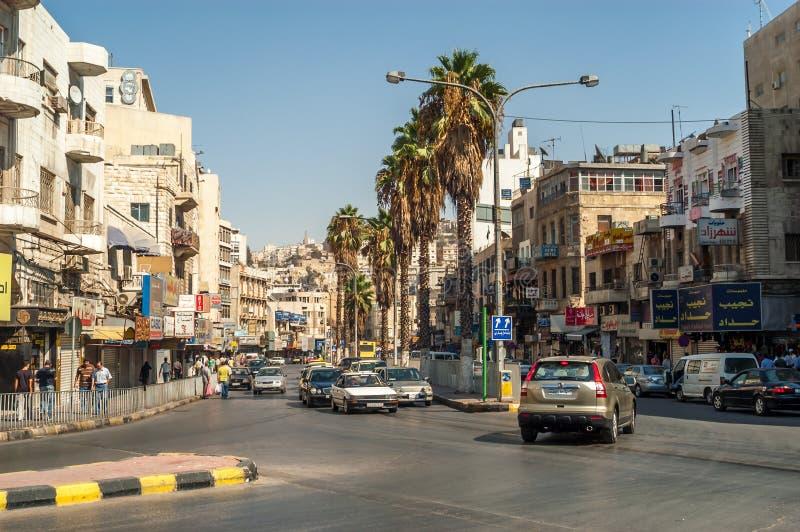 Cidade de Amman imagens de stock