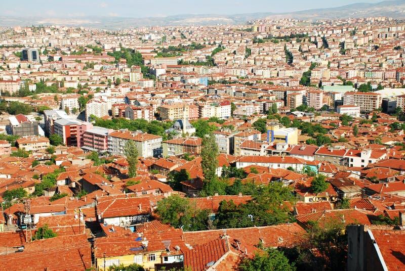 Cidade de Ancara imagem de stock