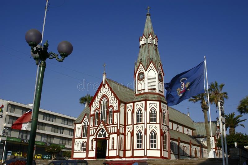 Cidade de Arica, o Chile imagem de stock royalty free