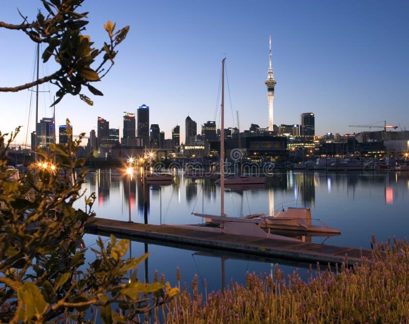 Cidade de Auckland imagens de stock