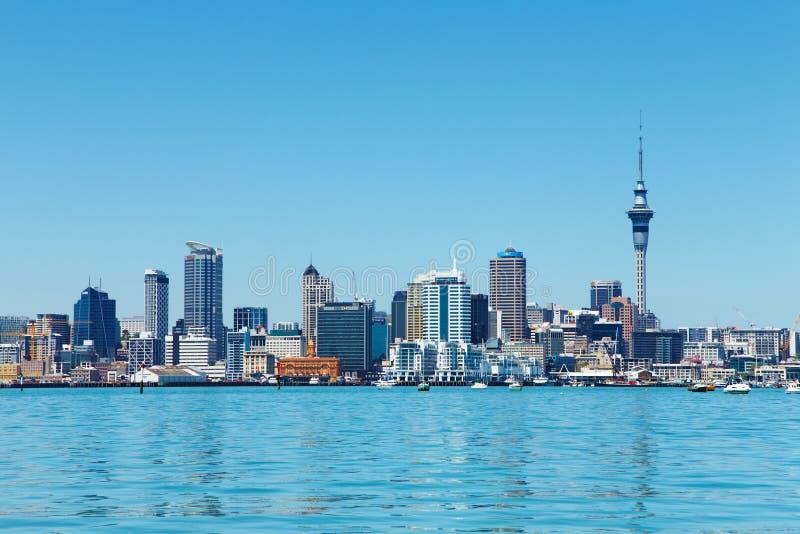 Cidade de Auckland, Nova Zelândia fotos de stock royalty free