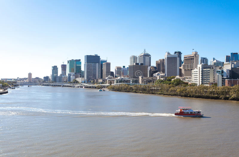 Cidade de Austrália, Brisbane imagem de stock