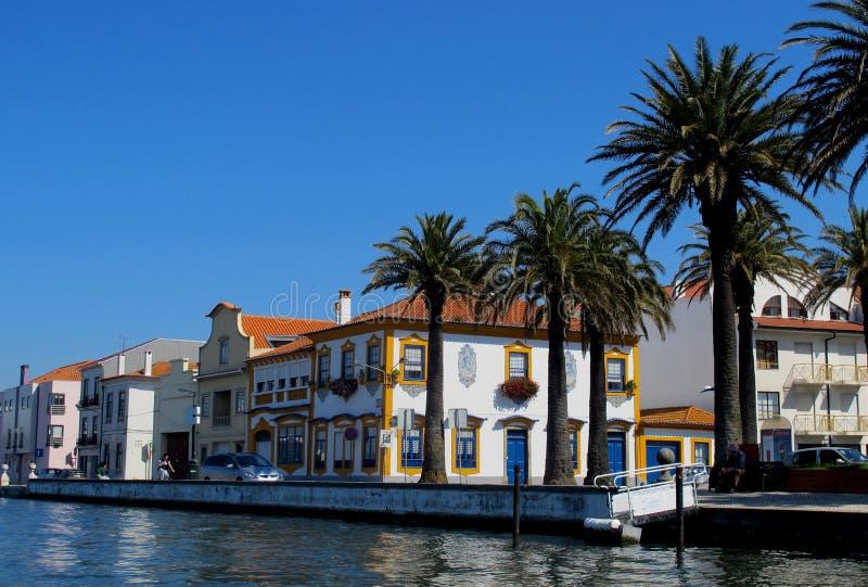 Cidade de Aveiro, Portugal imagens de stock royalty free