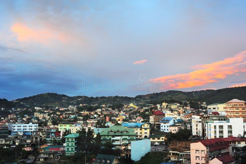 Cidade de Baguio foto de stock royalty free