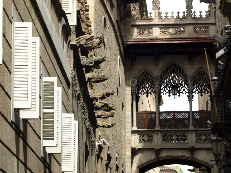 Cidade de Barcelona fotos de stock