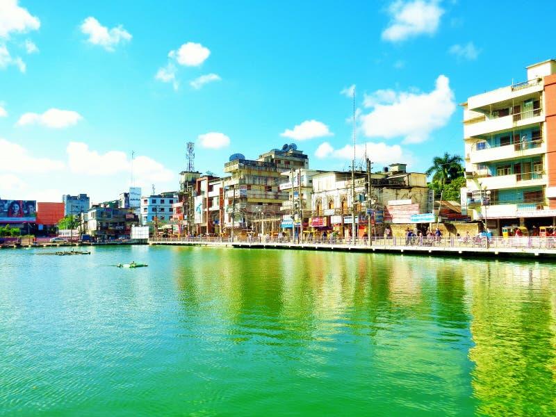 Cidade de Barisal fotografia de stock