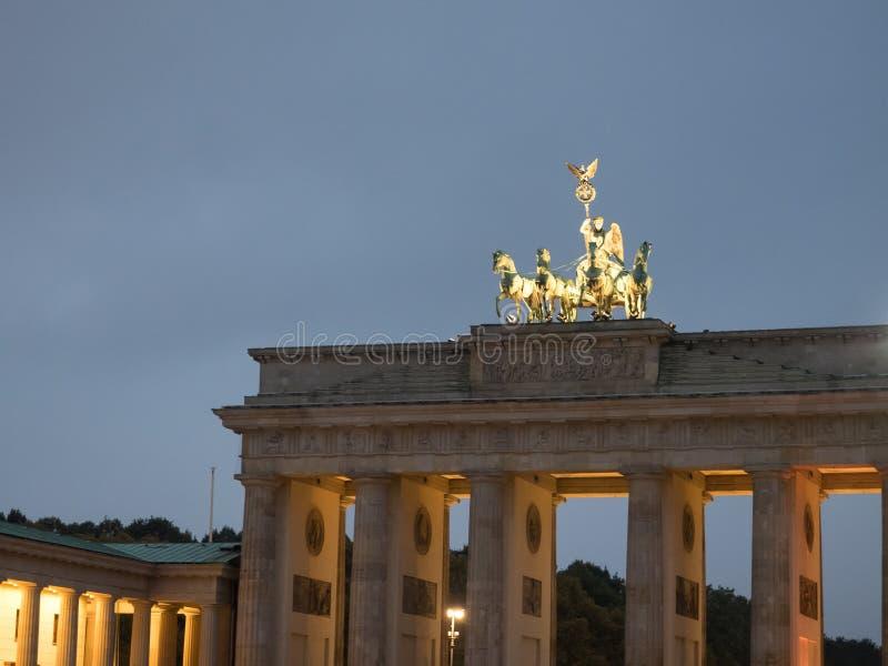 A cidade de Berlim fotografia de stock royalty free