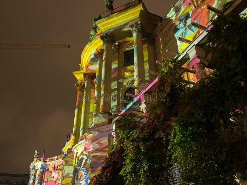 A cidade de Berlim imagens de stock