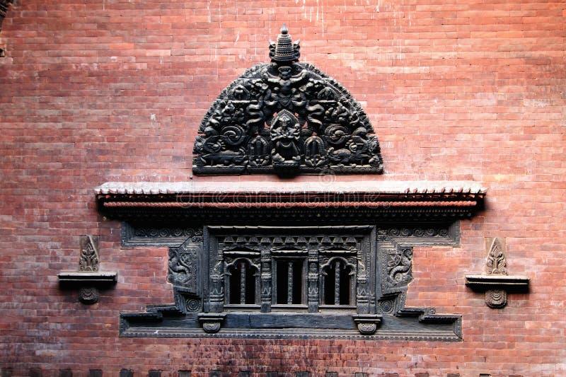Cidade de Bhaktapur em Nepal imagem de stock royalty free