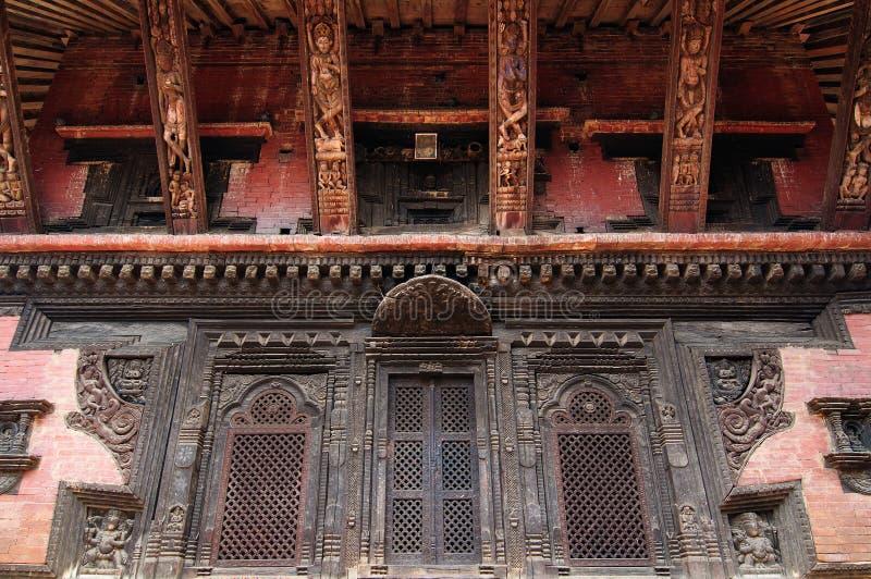 Cidade de Bhaktapur em Nepal fotos de stock