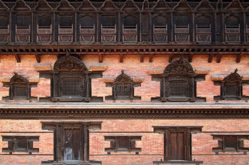 Cidade de Bhaktapur em Nepal imagens de stock