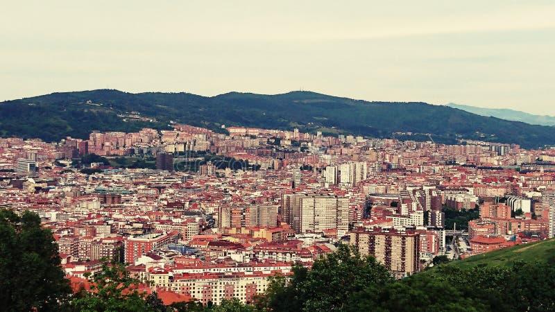 Cidade de Bilbao foto de stock