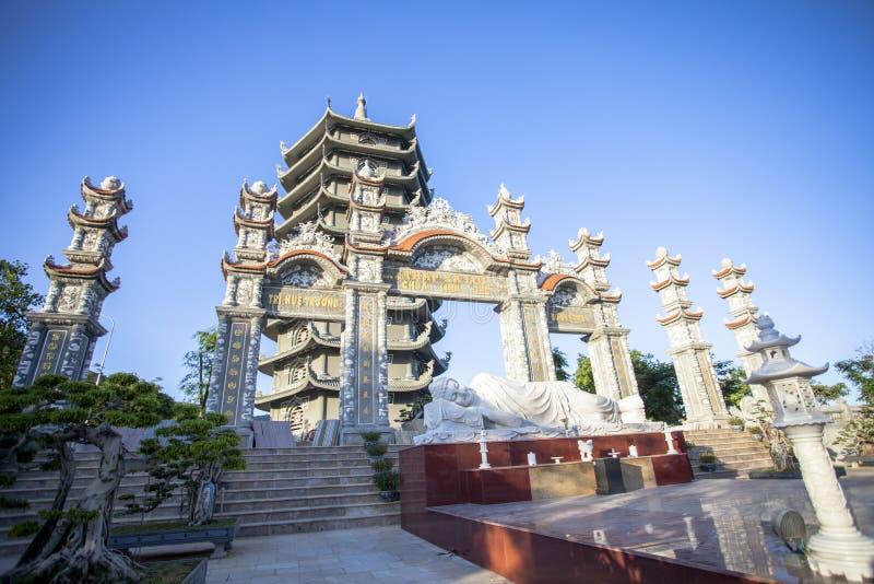 Cidade de Binh Duong, Vietnam foto de stock royalty free