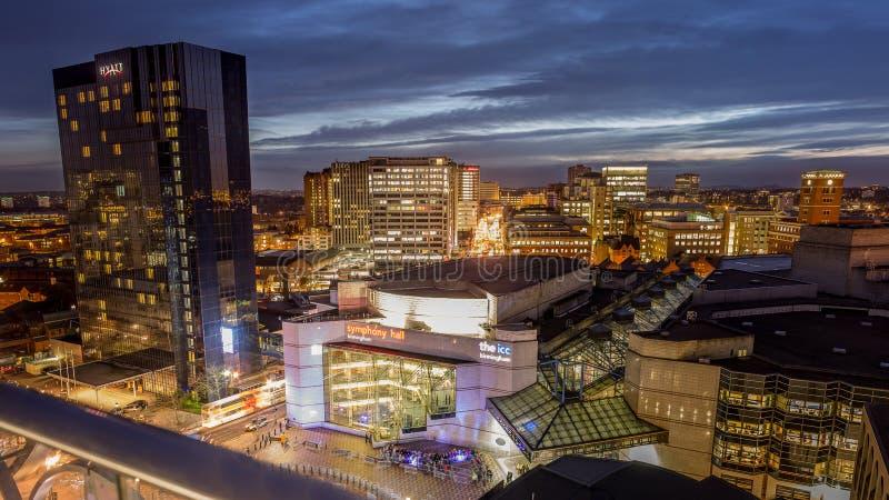 Cidade de Birmingham imagem de stock royalty free