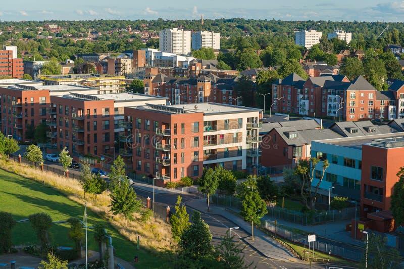 Cidade de Birmingham, Reino Unido foto de stock royalty free