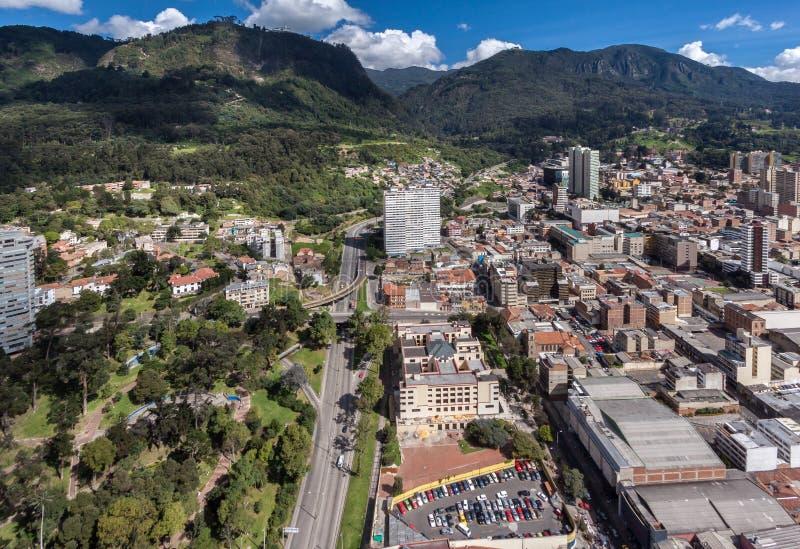 Cidade de Bogotá Colômbia fotos de stock