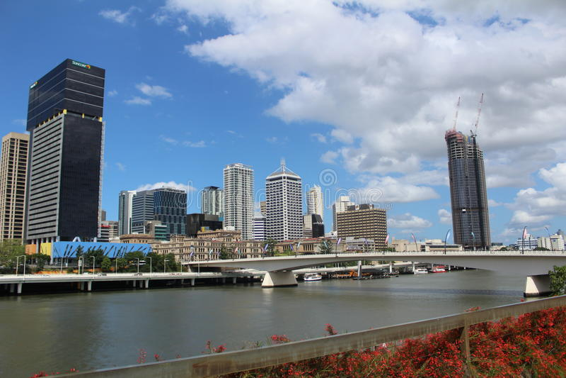 Download Cidade de Brisbane foto de stock editorial. Imagem de edifícios - 65580823