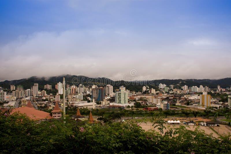 Cidade de Brusque - Санта-Катарина, Бразилия стоковые изображения