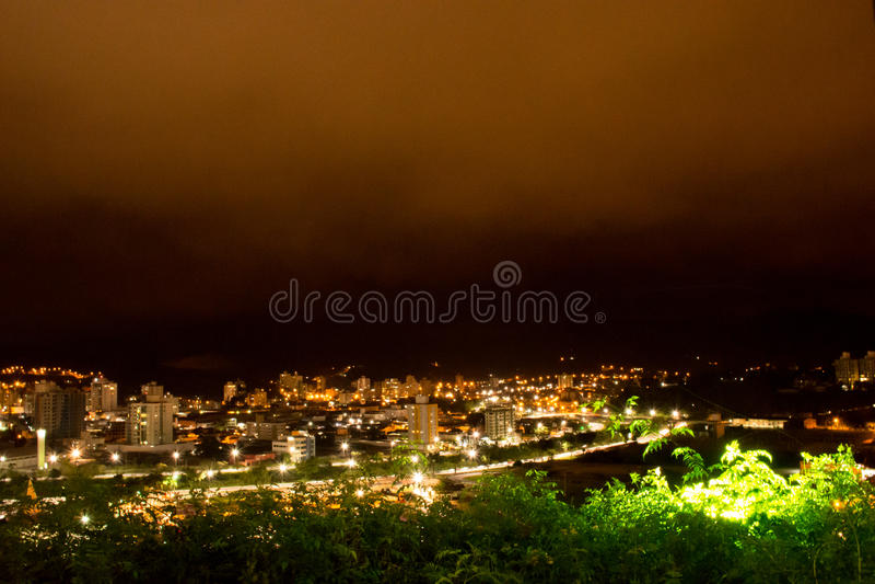 Cidade de Brusque - Santa Catarina, Brasil. Small and beautiful city of German colonization in the interior of Santa Catarina stock photos