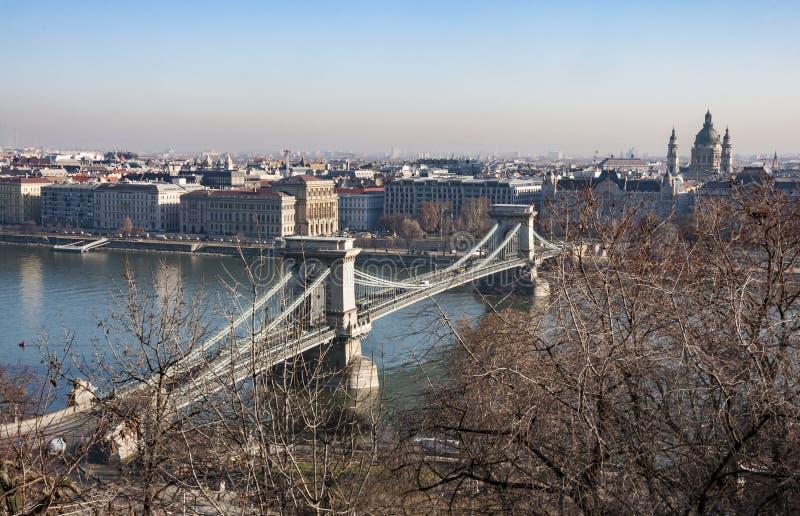 A cidade de Budapest imagens de stock royalty free