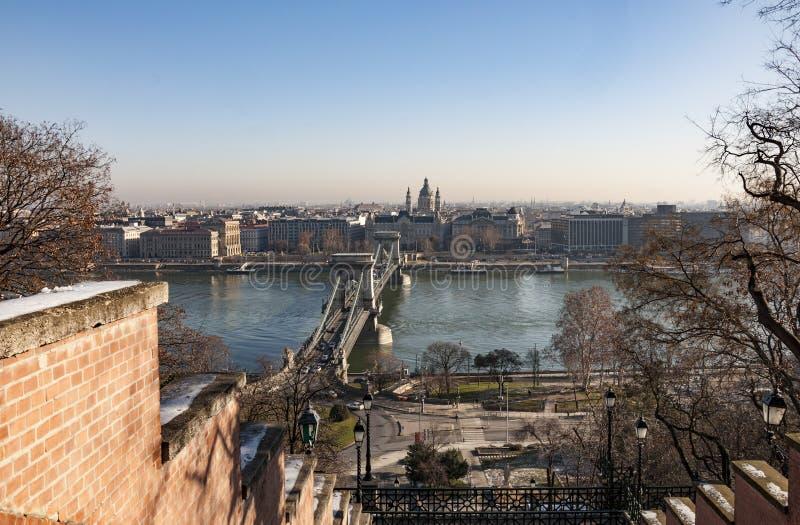 A cidade de Budapest imagens de stock