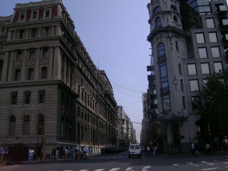 Cidade de Buenos Aires imagens de stock