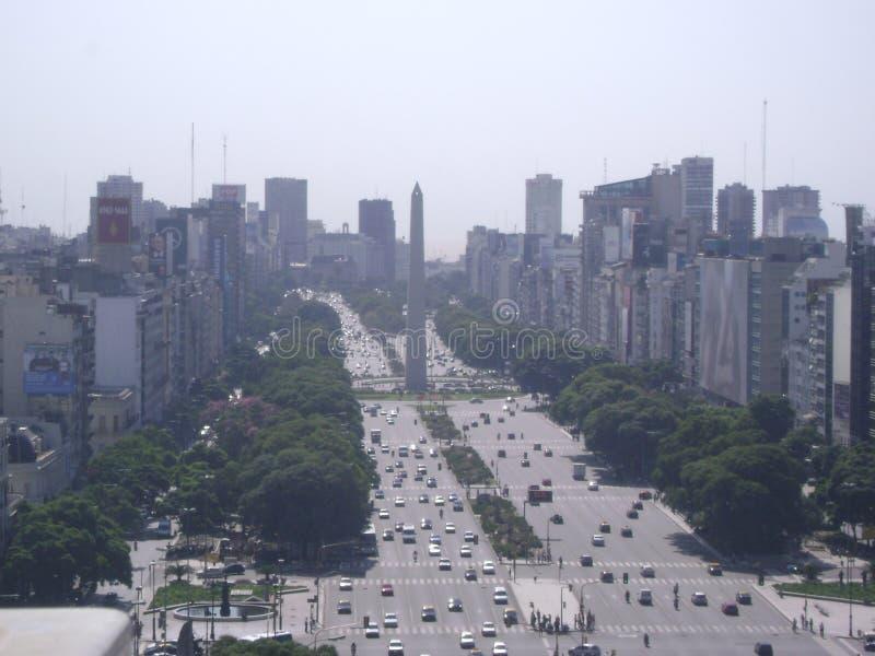 Cidade de Buenos Aires foto de stock royalty free