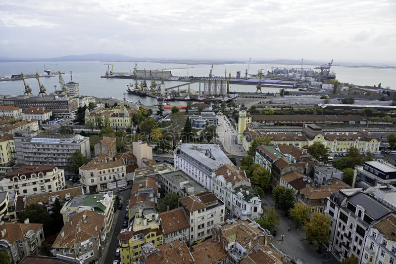 Cidade de Burgas fotos de stock