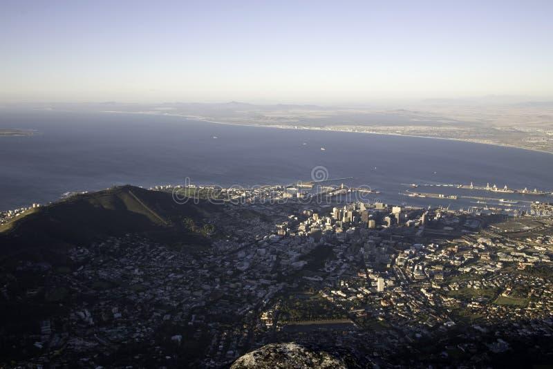 A cidade de Cape Town foto de stock