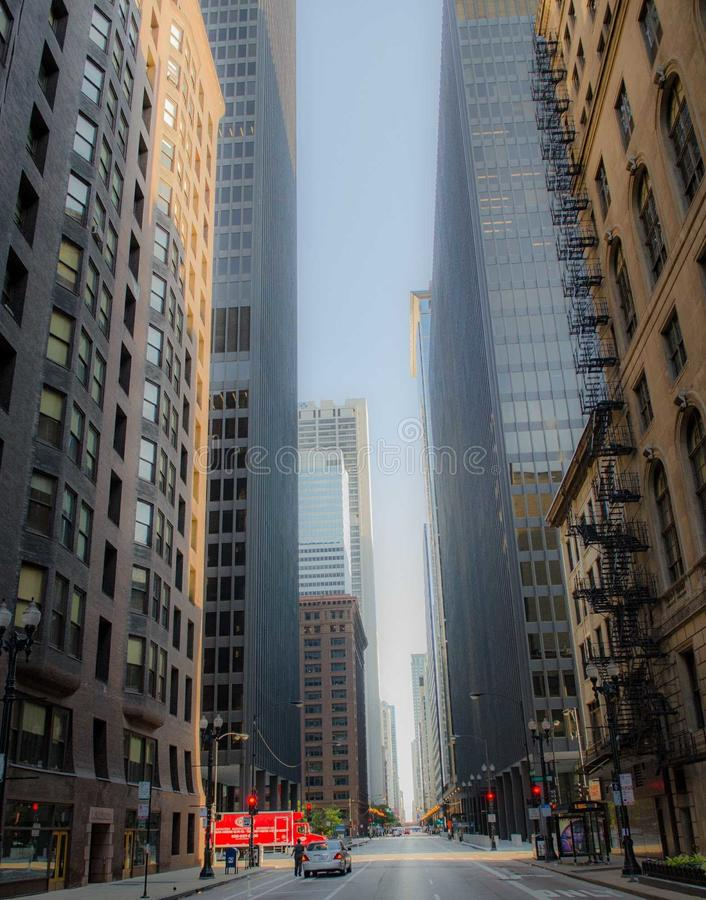 cidade de Chicago foto de stock royalty free