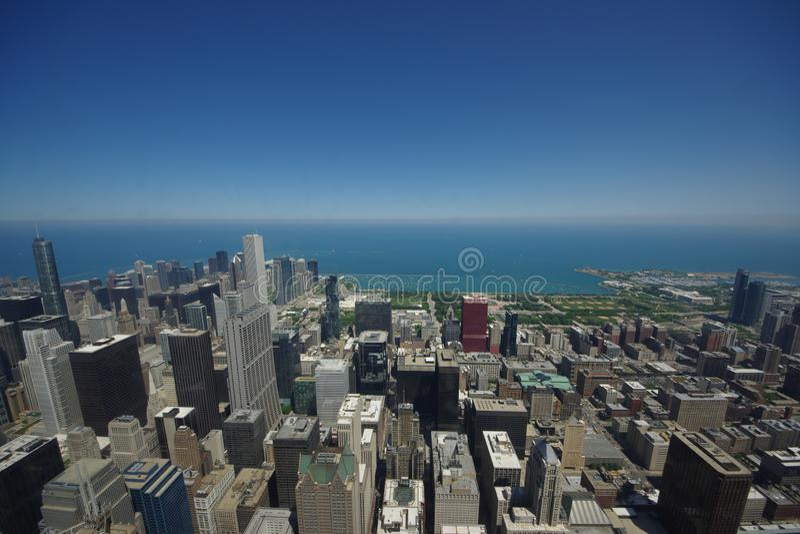 Cidade de Chicago imagens de stock royalty free