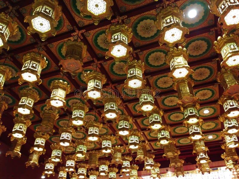 Cidade de China em Singapura o 9 de agosto de 2016 fotografia de stock royalty free